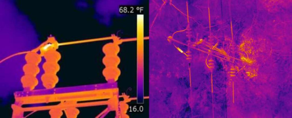 Tower Inspection through thermal imaging